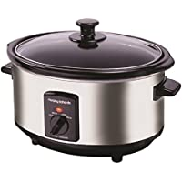 Morphy Richards 48710 Oval Slow Cooker 3.5 L - Polished Stainless Steel