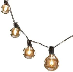 String Light Company Party Light 25-Ft Globe String Lights with 25