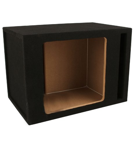 Absolute Sks10V Single 10-Inch Solo-Baric Square Slot-Ported Sub Box