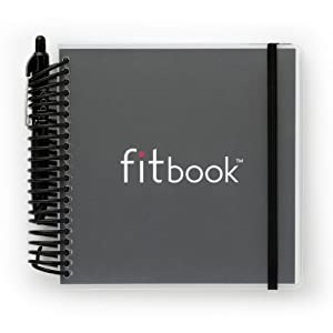 Fitlosophy Fitbook: Fitness and Nutrition Journal to Plan, Track, and Reach Health and Weight Loss Goals (Black)