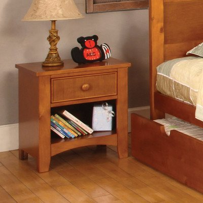 Miles 1 Drawer Nightstand Finish: Oak front-314380