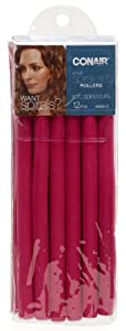 Conair 62501z Small Spiral, 12 Pack, Colors may vary