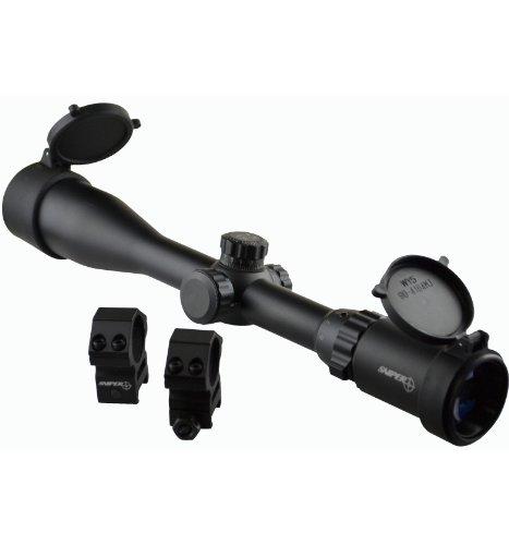 Sniper Scope 3-9X40,With Ring,Qta W/E, Side Wheel Rgb Ill, Flip-Open Lens Caps