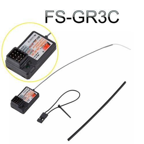 Partical Nice Flysky Fs-Gr3C Gt3B Gt2 2.4Ghz 3Ch Failsafe Receiver For Rc Car Rc Boat Gt3B