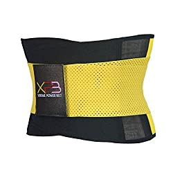 Xtreme Power Belt Unisex (Yellow, Extra Extra Large)