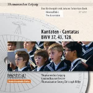 Cantatas For The Ascension [Thomanerchor Leipzig, Gewandhaus Orchester, Thomaskantor Georg Christoph Biller ] [Rondeau: ROP4041]