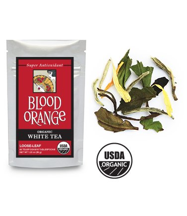 Octavia Blood Orange Organic White Tea (Sample) [5 Pack]