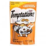 Whiskas 12-Pack Temptations Tantalizing Turkey Flavour Treats for Cats, 3-Ounce