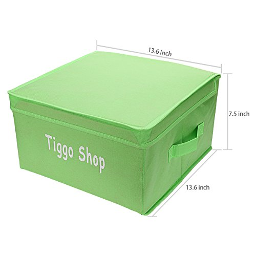 Tiggo Foldable Non Woven Storage Box/bins Collapsible Storage Trunk, Storage  Bin With Lid, Toy Box, Light Weight Reusable Storage Cube Baskets With  Portable ...