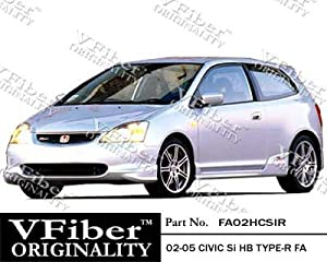 2002-2005 Honda Civic Si HB (EP3) HB Body Kit Type-R Full Lip Kit