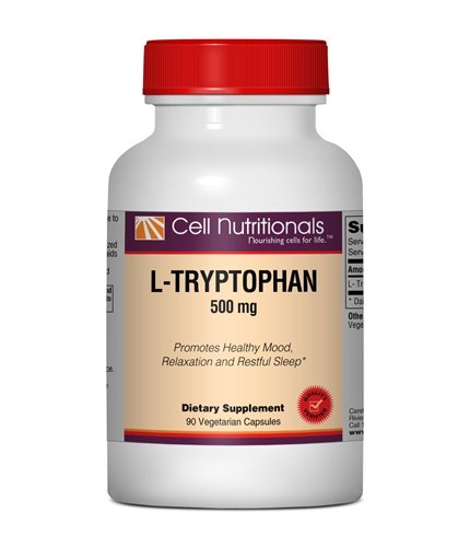 L-tryptophane - 500 mg, 90 capsules