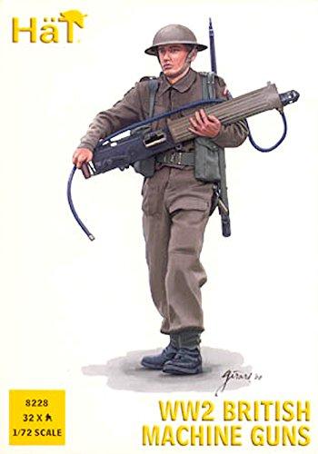 HaT Set 8228 WW2 British Machine Guns (Flames Of War British Rifle compare prices)