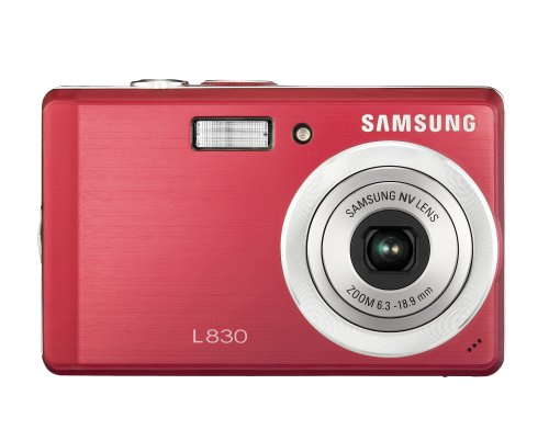 41kadI3 FGL Samsung Digimax L60 6.0MP Digital Camera with 3x Optical Zoom (Silver)