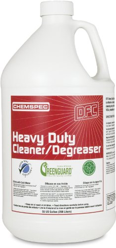 Chemspec DFCHDCD4G Heavy Duty Cleaner/Degreaser, 1 Gallon Bottles (Case of 4)