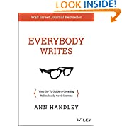 Ann Handley (Author)  (50)  Buy new:  $25.00  $14.53  41 used & new from $12.00