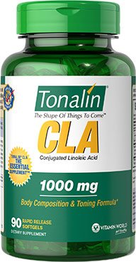 Vitamin World Tonalin Cla, 90 Softgels
