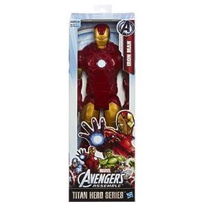 "Avengers Series Marvel Assemble Titan Hero Iron Man 12"" Action Figure"
