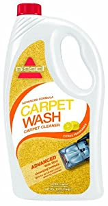 BISSELL 94Q6E 1.5 Litre Advanced Formula Carpet Wash Citrus Fragrance Carpet Cleaning Formula