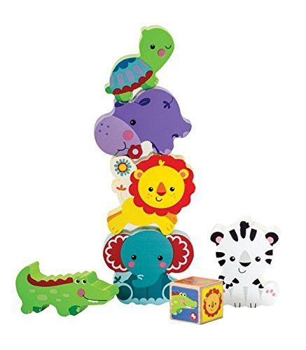 My First Animal Tower - Blocks By Fisher Price (30622) front-95712