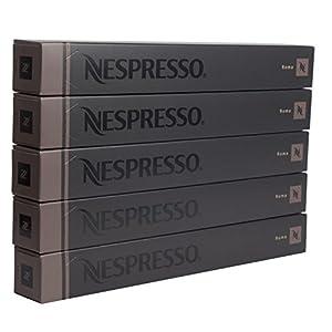 50 Nespresso Capsules Roma Coffee New