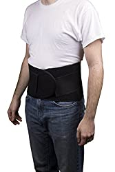 Roscoe Medical BB3711 Double Pull Back Brace, Fits Waists 40