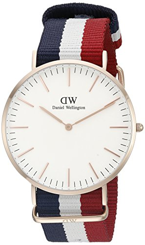 Daniel Wellington 0103DW - Reloj con correa de acero para hombre, color...