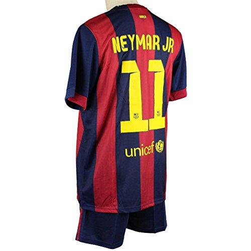 バルセロナ ネイマール ホーム 14-15 サッカーレプリカユニフォーム 大人用