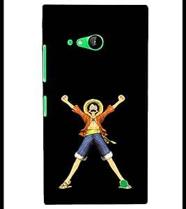 PRINTSHOPPII FUNNY CARTOON Back Case Cover for Nokia Lumia 730::Microsoft Lumia 730::Microsoft Lumia 735