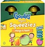 Organix Squeezy Pouch Multipack - Mango & Apple