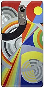The Racoon Lean printed designer hard back mobile phone case cover for Gionee S6S. (Rythme n°1)