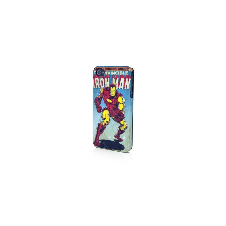 Performance Designed Products IP 1411 Marvel Iron Man Bling Clip Case for iPhone 4   1 Pack   Retail Packaging   Assorted