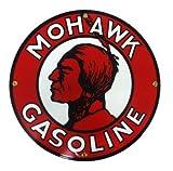 Mohawk Gasoline Porcelain Sign