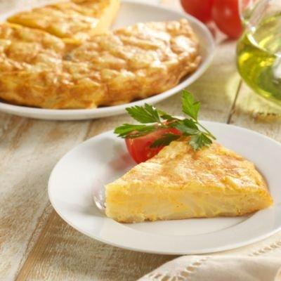 Alinaco Tortilla Espanola - Spanish Potato Omelet (1.1 pounds)