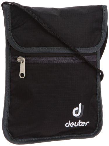 [ドイター] deuter セキュリティーワレット 2 D39210 7410 (ブラック×グレー)