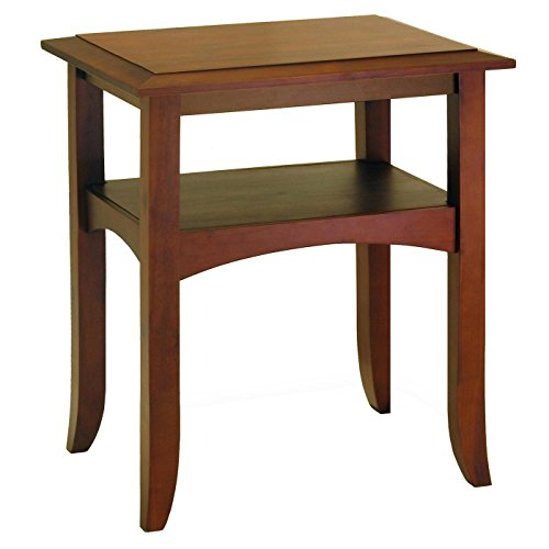 craftsman-end-table-with-shelf