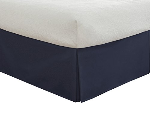 "Why Choose Lux Hotel Bedding Tailored Bedskirt, Classic 14"" drop length, Pleated Styling, Queen..."