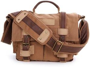 ACOSUN BBK-2 Vintage Canvas DSL RCamera Bag Shoulder Messenger Bag for Canon Sony Nikon