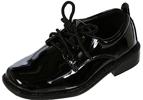 Tip Top, Black Patent Dress Oxford Shoes ~ 5M US