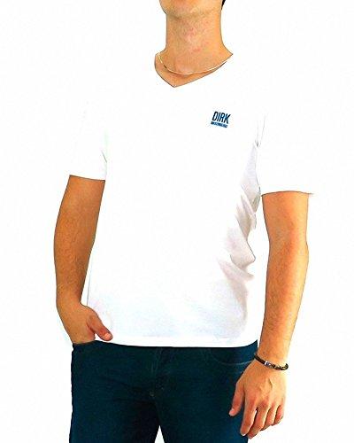 bikkembergs-tshirt-basic-blanc-v-bikkembergs-3xl-blanc