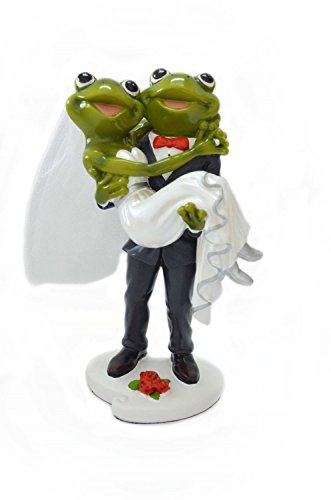 Gift Garden Wedding Ornament Groom Holding Bride in His Arms Decor for Cake Topper