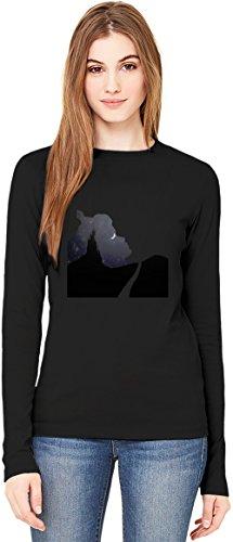 sleeping beauty T-Shirt da Donna a Maniche Lunghe Long-Sleeve T-shirt For Women| 100% Premium Cotton Ultimate Comfort X-Large
