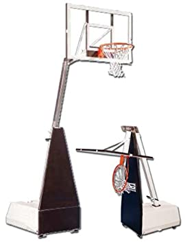 Anaconda Sports® MICRO-Z-R The Rock® Roll Around Portable Basketball Backstop System (Call 1-800-327-0074 to order)