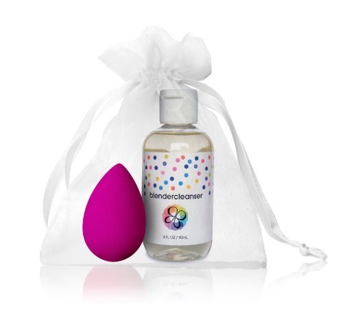 Beautyblender Original Travel Kit 2 Piece Kit Includes: 1 Pink Blender + 3 Oz Cleanser