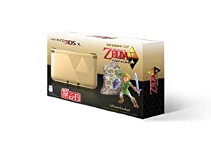 NintendoGold Nintendo 3DS XL with The Legend of Zelda: A Link Between Worlds