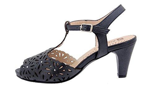 Scarpe donna comfort pelle Piesanto 2280 sandali scarpe di sera comfort larghezza speciale