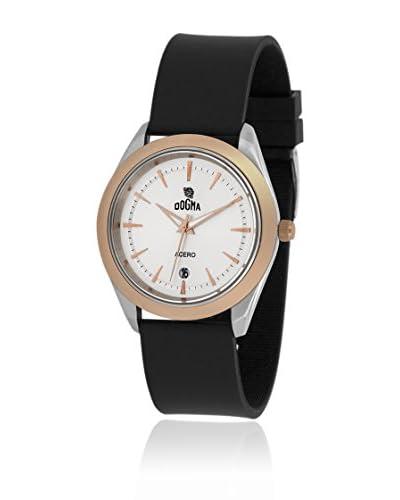 Dogma Reloj con movimiento cuarzo suizo DG7052P Negro 46  mm