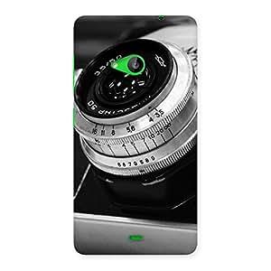 Premium BW Camera Up Back Case Cover for Lumia 535