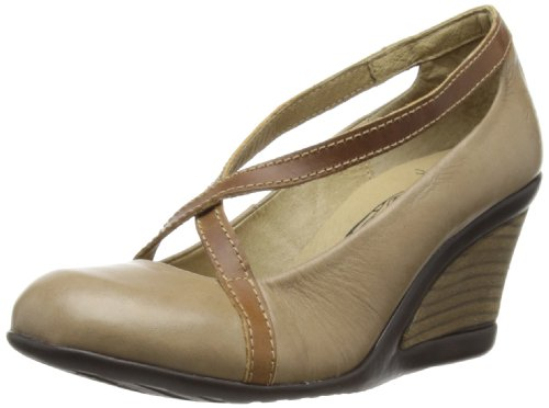 Fly London Women's Jelo Beige/Camel Wedges Heels P142532003 4 UK
