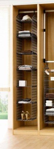 Hängeregal Regal Set Regal Ordnung für Schuhe Kleidung Bad H.ca. 208 cm