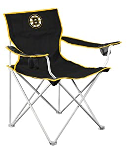 Boston Bruins Deluxe Adult Folding Logo Chair from Logo